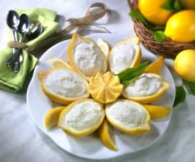 Sorbetto nel limone