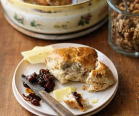 Walnut Scones
