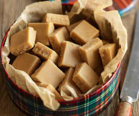 Krówki szkockie (Scottish tablets)