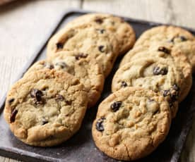 Sour Cherry and Coconut Cookies