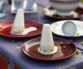 Kulfi - Gelado de leite com frutos secos