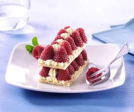 Raspberry Dacquoise