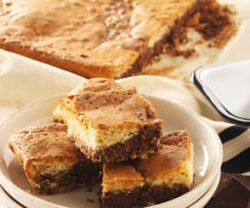 Brownies marmoreados