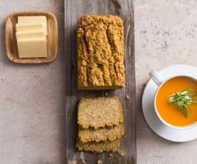 Pumpkin, Carrot and Herb Bread