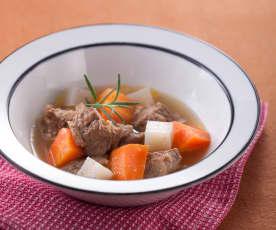 燉煮味噌牛肉