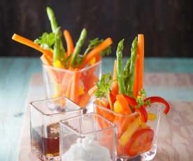 雙醬蔬菜棒