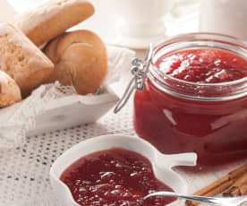 Mermelada de ciruela y manzana al aroma de canela