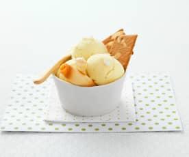 Crème glacée mascarpone