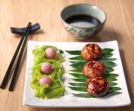 Polpette di pollo giapponesi