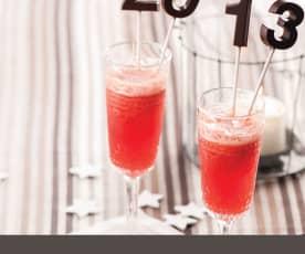 Cocktail de frutos vermelhos