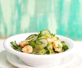 Prawn and Cucumber Salad