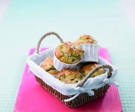 Raspberry and Pistachio Muffins