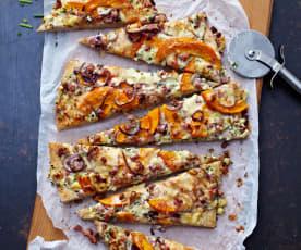 Pizza au potiron