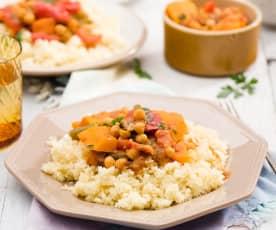 Tadżin - marokański gulasz wegetariański z dyni
