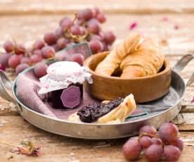 Dżem z ciemnych winogron