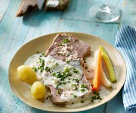 Meerrettichfleisch mit Sylter Kartoffeln