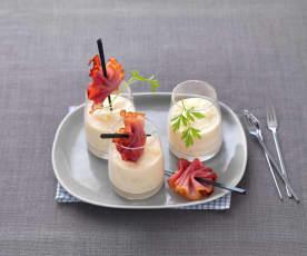 Crème parmentière au saint-marcellin