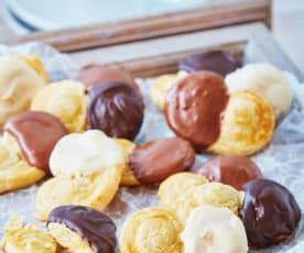 Orejitas bañadas en chocolate