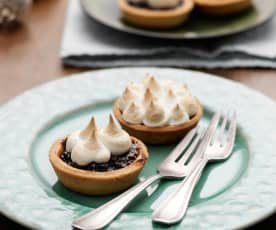 Meringue Topped Mince Pies