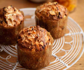 Mini Chocolate and Apricot Panettone