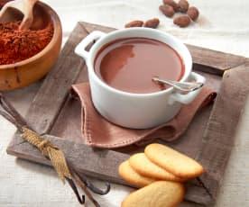 Gorąca czekolada z wanilią