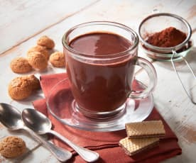 Cioccolata all'amaretto