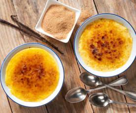 Creme brûlée (senza lattosio)