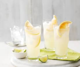 Limetten-Grapefruit-Cooler