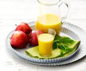 Succo digestivo pere, mele, finocchio e curcuma