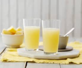 Succo rinvigorente allo zenzero, miele e limone