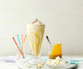 Bananen-Karamell-Milchshake