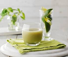 Smoothie au melon miel et kiwi