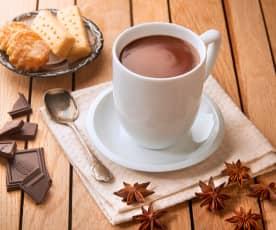 Gorąca czekolada z anyżem