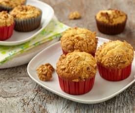 Muffiny s hruškami