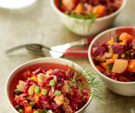 Russian Beetroot Salad