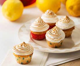 Minicupcaky á la citrónový meringue páj