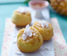 Ananas-Upside-Down-Muffins