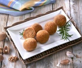 Lilkové kuličky s vlašskými ořechy