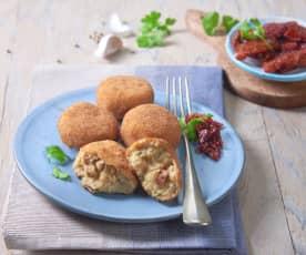 Kuličky z tresky a brambor