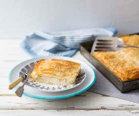 Greek Cheese Filo Pie (Tiropita)