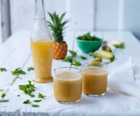 Carrot and Pineapple Smoothie
