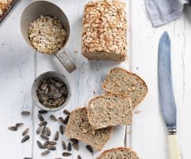 Pão de espelta e trigo sarraceno