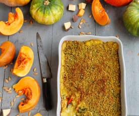 Carrot, Pumpkin and Chard Pie