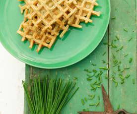 Waffles de legumes