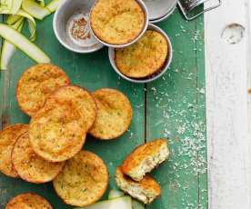 Courgette and Parmesan Muffins