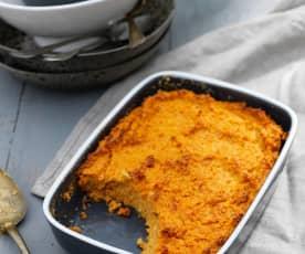 Carrot and Peanut Bake