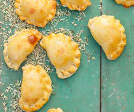 Oat and Cashew Pasties