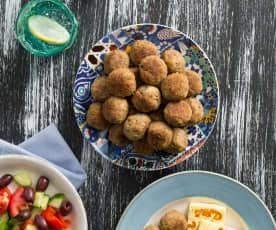 Greek Lamb Meatballs (Keftethes)