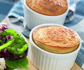 Blue Cheese Soufflés