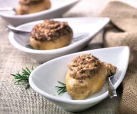 Plněné nové brambory s rozmarýnem